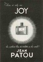 Jean Patou Joy perfume advert
