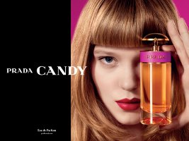 Prada Candy fragrance advert