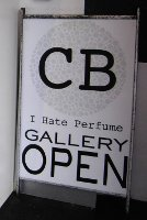 CB I Hate Perfume gallery open sign
