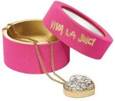 Viva La Juicy solid perfume necklace