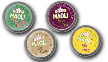 Maoli Perfumes lip balms