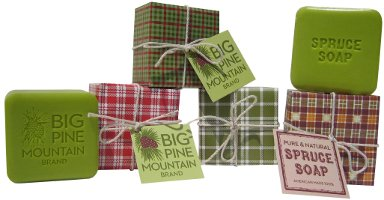 Big Pine Mountain bar soaps