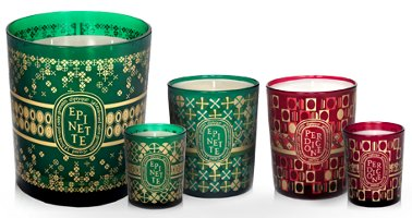 Diptyque holiday candles 2011