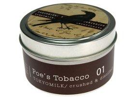 Tokyo Milk travel candle tin, Poe's Tobacco