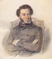 Pushkin portrait by P Sokolov