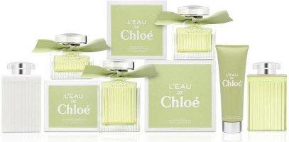 L'Eau de Chloé product range