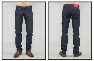 Scratch-n-Sniff Raspberry Scented Denim jeans