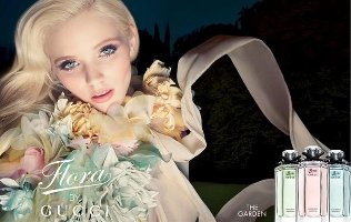 Abbey Lee Kershaw for Gucci Flora The Garden