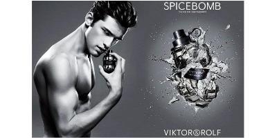 Viktor & Rolf Spicebomb advert