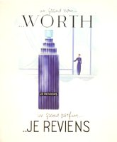 Worth Je Reviens advert 2