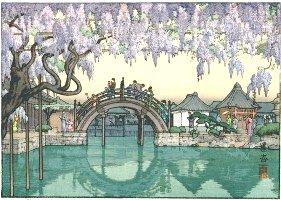 Half Moon Bridge, Toshi Yoshida