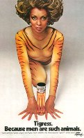 Faberge Tigress advert, Lola Falana