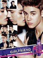 Justin Bieber Girlfriend fragrance advert