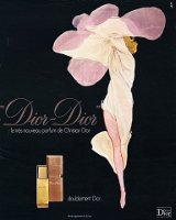 Rene Gruau Dior-Dior advert