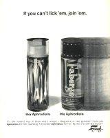Faberge Aphrodisia 1960s advert