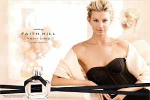 Faith Hill fragrance advert