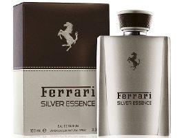 Ferrari Silver Essence fragrance packaging