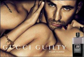 Gucci Guilty Pour Homme advert