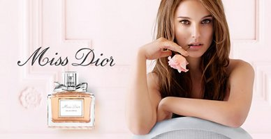 Christian Dior Miss Dior Eau Fraiche advert with