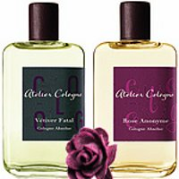 Atelier Cologne Rose Anonyme and Vétiver Fatal fragrances