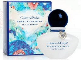 Crabtree & Evelyn Himalayan Blue perfume bottle