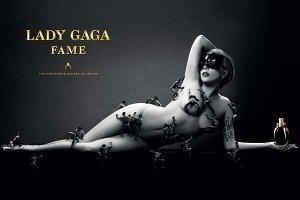Lady Gaga Fame, 2 page advert