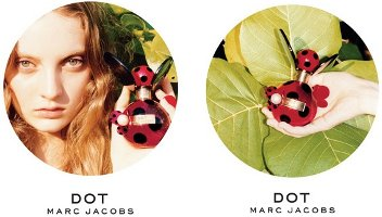 Marc Jacobs Dot fragrance adverts