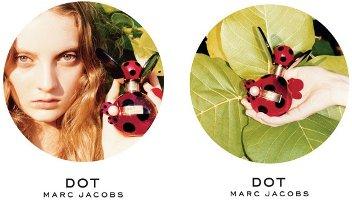 Marc Jacobs Dot fragrance adverts