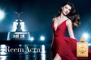 Reem Acra fragrance advert