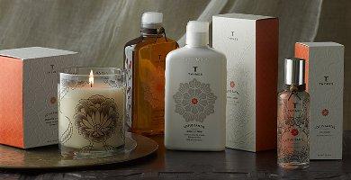 Thymes Lotus Santal fragrance range