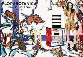 Balenciaga Florabotanica advert with Kristen Stewart