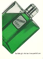 Coty Emeraude vintage advert