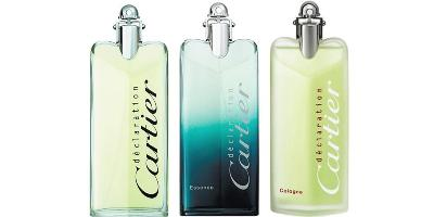 Cartier Declaration fragrance bottles