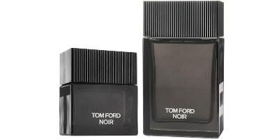 Tom Ford Noir fragrance bottles