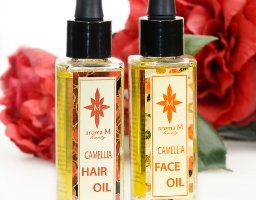 Aroma M Beauty Camellia Oil for Hair & Face