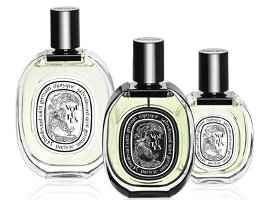Diptyque Volutes, bottle trio