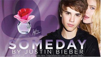 Justin Bieber Someday advert