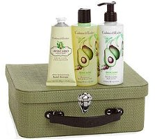 Crabtree & Evelyn Avocado, Olive & Basil Carry Case