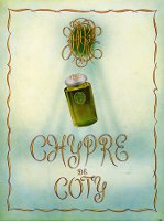Coty Chypre advert