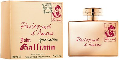 John Galliano Parlez-Moi d'Amour Gold Edition