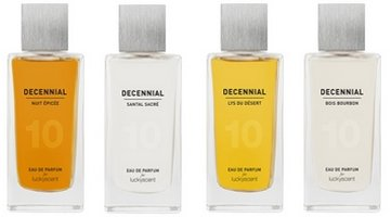 Luckyscent Decennial collection