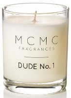 MCMC Fragrances candle, Dude No. 1