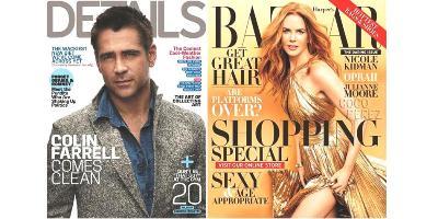 covers, details and harper's bazaar, nov 2012