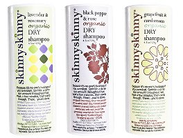 SkinnySkinny dry shampoos