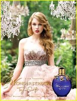 Taylor Swift Wonderstruck advert