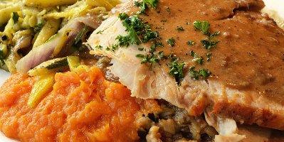 Roasted American Turkey