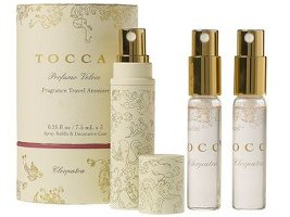 Tocca Cleopatra travel sprays