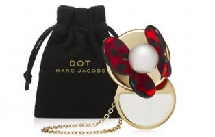 Marc Jacobs Dot solid perfume necklace