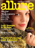 Allure, Drew Barrymore January 2013