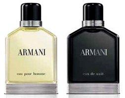 Giorgio Armani Eau de Nuit & Eau Pour Homme, 2013